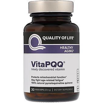 Quality of Life Labs, VitaPQQ, Healthy Aging, 30 Vegicaps