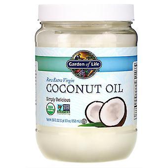 Garden of Life, Aceite de coco virgen extra crudo, 29 fl oz (858 ml)