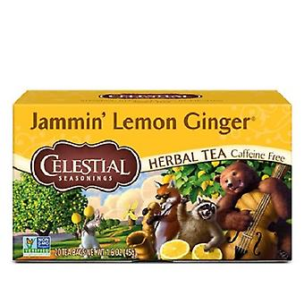 Celestial Seasonings Jammin Lemon Ginger Tea