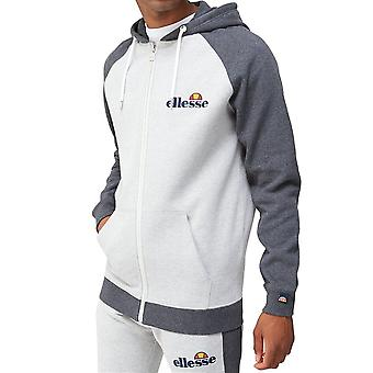 Ellesse Wilder 9820 Fuld Zip Hood Sweat Top - Grå Marl
