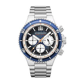 Spinnaker SP-5086-22 Gent's Hydrofoil Blue Dial Wristwatch