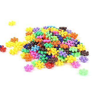 3d Kunststoff Schneeflocke Puzzle - pädagogisches Spielzeug