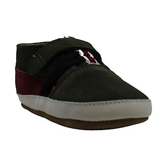 Robeez Girls' Espadrille-First Kicks Crib Shoe Shimmer 0-3 Months