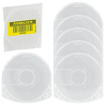 Umd case for psp sony replacement game movie disc casing shell - 6 pack | zedlabz