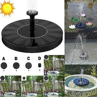 Wasser-Solarbrunnen, Garten-Pool-Teich für Outdoor-Panel schwimmende Dekoration