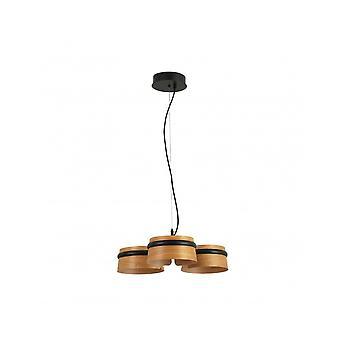 Loop Led Black Pendant Lamp