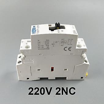 Toct1 2p 25a 220v/230v 50/60hz Din Rail Ac Modularer Schütze mit Handbuch