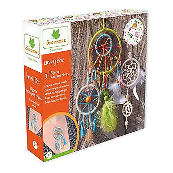Sycomore Lovely Box 3 Small Dreamcatchers Jewels Unisex Multi-colour (CRE1031)