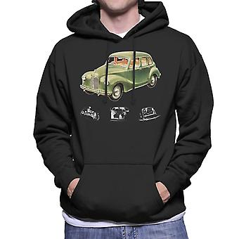 Austin X Ray Interior British Motor Heritage Men's Hooded Sweatshirt