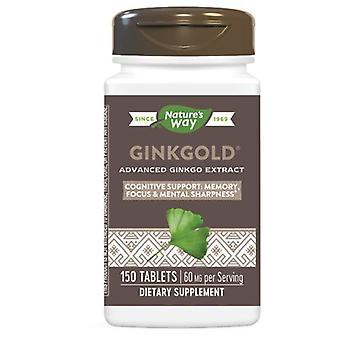 Nature-apos;s Way Ginkgold, Bonus, 150 Tab