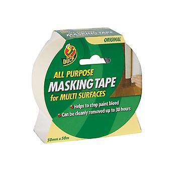 Shurtape Duck Tape All Purpose Masking Tape 50mm x 50m SHU232206