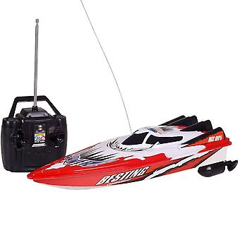Rc Racing Boat- Radio Remote Control Dual Motor Boat, High-speed Strong Power