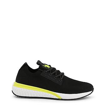 Us polo assn. 4163w9 men's synthetic fabric sneakers