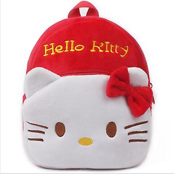 Hello Kitty  Bebe Cartoon Kids Plush Backpack Toy, School Bag-'s