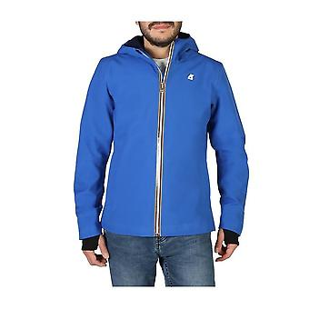 K-Way - Clothing - Jackets - JACK-BONDED-K008J00_A0K - Men -- Blue - XXL