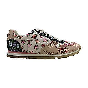 Coach C118 mit gemischten Floral Print Frauen's Sneakers Größe US