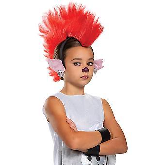 Barb Headpiece - Child - Trolls Movie 2