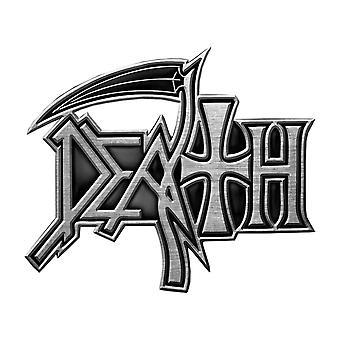Death PIN odznak kapela logo nový oficiálny spojka Metal klopě