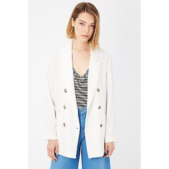 Bianco White Suits & Blazer