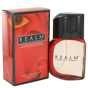 Realm Eau De Toilette / Cologne Spray par Erox 3.4 oz Eau De Toilette / Cologne Spray