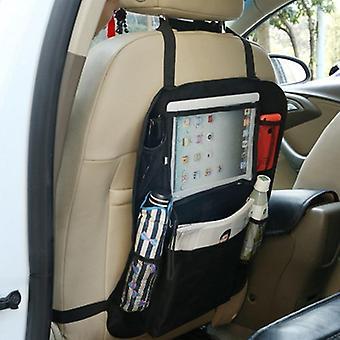 Barnesikkerhed Seat Opbevaringspose Auto bilsæde Organizer Hængende Taske Mesh