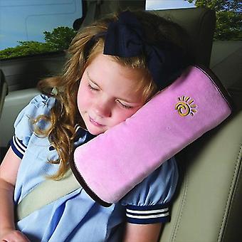 Ceinture de sécurité pour enfants Ceinture de sécurité Coussin de repos de tête d'oreiller d'épaule utile de courroie