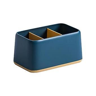 Serie semplice Abs Pen Holder Desk Organizer Storage Box School/ufficio