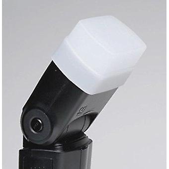 &Maxsimafoto; - hvid flash diffuser kompatibel med nissin di600, di700 & di700a