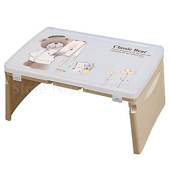 Folding Tabel Sekretær Folding Computer Desk Seng med Baby Learning's
