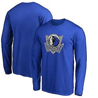 Dallas Mavericks Basketball Blue T-shirt Sports Top CXG012