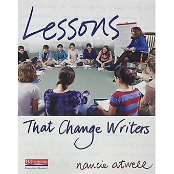 Kirjoittajia muuttavat oppitunnit (kirjoittajia muuttavat oppitunnit)