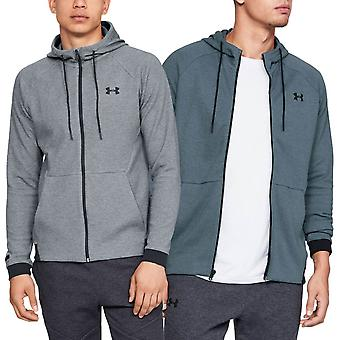 Under Armour Mens Unstoppable 2X Knit Full Zip Light Wicking Hoody Hoodie