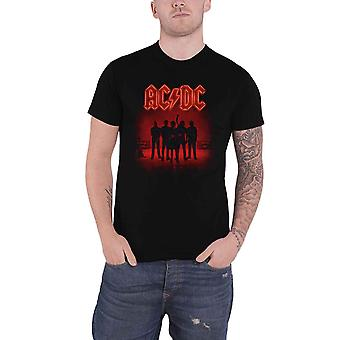 AC/DC T-paita PWR UP Power Up Band Logo Back Tulosta uusi virallinen Mens Black