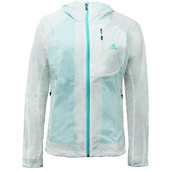 Adidas Femme Veste transparente Doublé Windbreaker Blanc S09561 A4E
