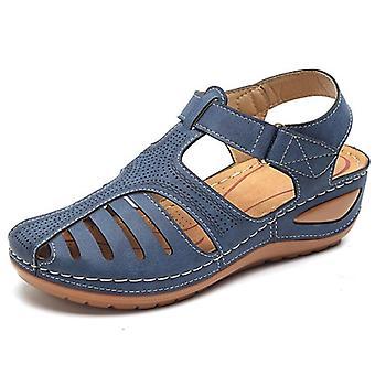 New Summer Soft Bottom Wedges Shoes Platform Sandals