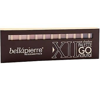 Bellapierre Go Natural Frost Eyeshadow Palette 14g