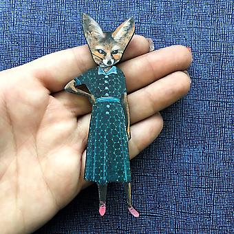 Sassy Fox Magnet