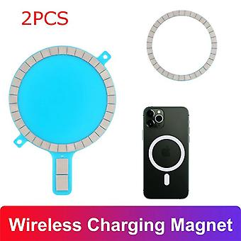 Boneruy p33 2-in-1 con supporto per desktop in lega di alluminio con supporto in lega di alluminio con copertura magsafe per iphone serie 12