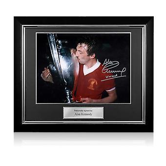 アラン・ケネディがリバプールFCにサイン:ヨーロッパカップ優勝。デラックスフレーム