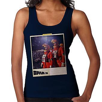 Space 1999 Helena och John In Orange Space Suits Women's Vest