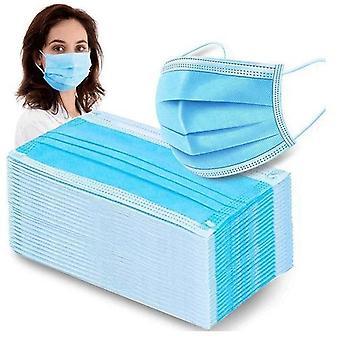 200 stk. - CE-godkendte mundbeskyttere - Ansigtsmasker 3-Lagers