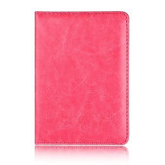 Casual Pu Pelle Passaporto Copre Accessori di Viaggio Id Banca Carta di Credito Bag