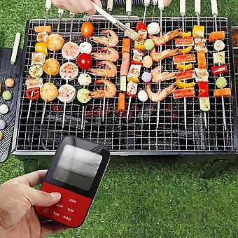 Wireless waterproof digital cooking meat food thermometer for oven grilling smoker bbq