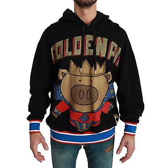 Black Sweater Pig of the Year Hooded