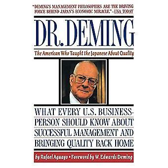 Dr. Deming: De Amerikaan die de Japanners over kwaliteit leerde