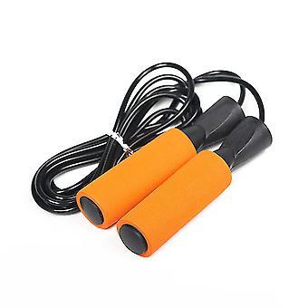 Saltare la corda, esercizio di fitness, esercizio di bruciare i grassi, corda di salto con peso regolabile, cuscinetto di filo d'acciaio che salta la corda