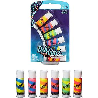Doh vinci blendables 6 tubes pop mix