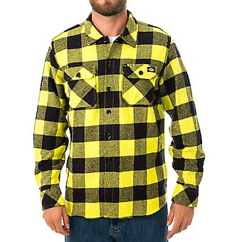Men's shirt dickies sacramento relxed long sleeve shirt dk0a4x8nsul