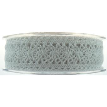 Lace Ribbon Victorian 27mmx10m White No.01