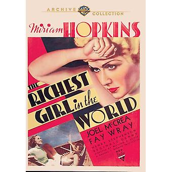 Richest Girl in the World [DVD] Usa tuonti